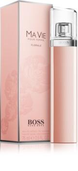 Hugo Boss Boss Ma Vie Florale eau de parfum pentru femei 75 ml