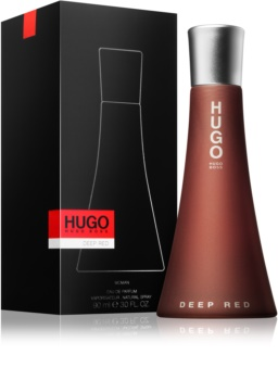 Hugo Boss Hugo Deep Red Eau de Parfum für Damen 90 ml