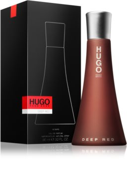 Hugo Boss Hugo Deep Red eau de parfum nőknek 90 ml