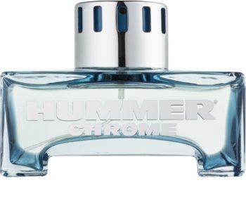 Hummer Chrome eau de toilette para homens 125 ml