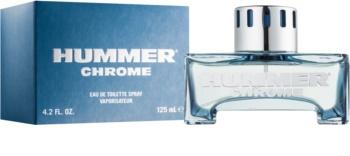 Hummer Chrome Eau de Toilette voor Mannen 125 ml