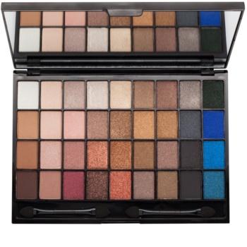 I Heart Revolution Slogan Palette paleta očních stínů se zrcátkem a aplikátorem