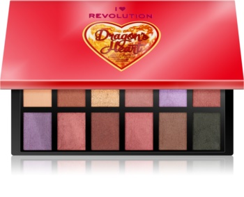 I Heart Revolution Dragons Heart Eyeshadow Palette