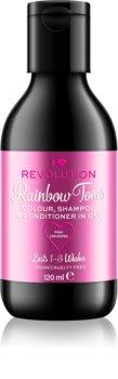 I Heart Revolution Rainbow Shots shampoing démaquillant capillaire pour cheveux