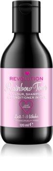 I Heart Revolution Rainbow Shots šampon za izpiranje barve za lase
