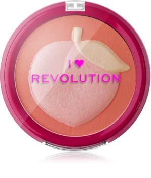 I Heart Revolution Fruity Blusher Peach blush compact