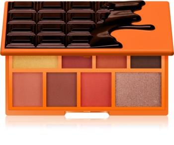 I Heart Revolution Mini Chocolate paletka očných tieňov