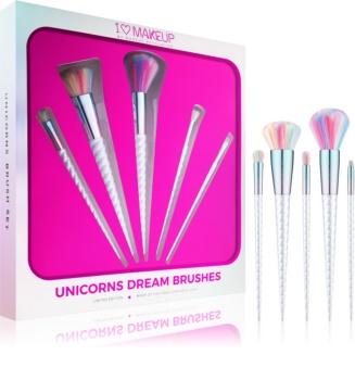 I Heart Revolution Unicorns Dream набір щіточок для макіяжу