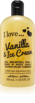 I love... Vanilla & Ice Cream cremă de duș și baie