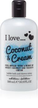 I love... Coconut & Cream aceite de ducha y baño