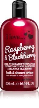 I love... Raspberry & Blackberry Shower and Bath Cream