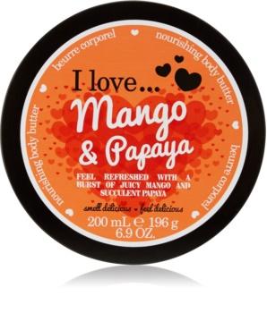 I love... Mango & Papaya maslo za telo