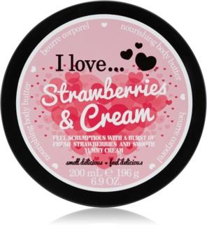 I love... Strawberries & Cream Körperbutter