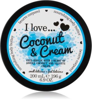 I love... Coconut & Cream масло для тіла