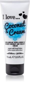 I love... Coconut & Cream Hand Cream