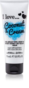 I love... Coconut & Cream krém na ruce