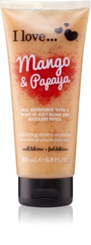 I love... Mango & Papaya Shower Scrub
