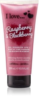 I love... Raspberry & Blackberry Shower Scrub