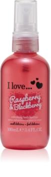I love... Raspberry & Blackberry osviežujúci telový sprej