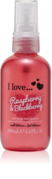 I love... Raspberry & Blackberry spray de corp racoritor