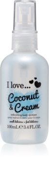 I love... Coconut & Cream spray corporal refrescante