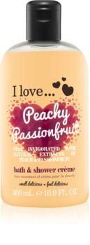I love... Peachy Passionfruit cremă de duș și baie