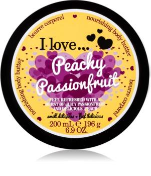 I love... Peachy Passionfruit telové maslo