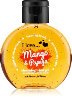 I love... Mango & Papaya čistiaci gél na ruky