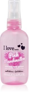 I love... Pink Marshmallow spray de corp racoritor