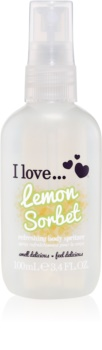 I love... Lemon Sorbet spray de corp racoritor