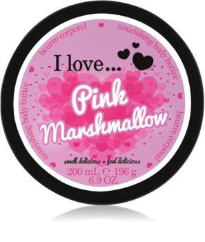 I love... Pink Marshmallow maslo za telo