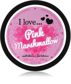 I love... Pink Marshmallow unt  pentru corp