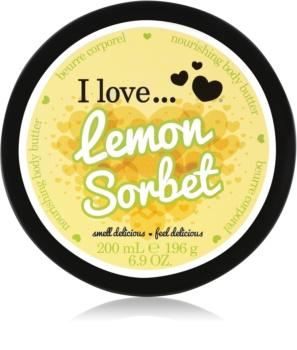 I love... Lemon Sorbet telové maslo