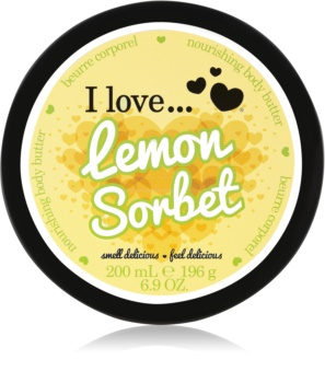 I love... Lemon Sorbet unt  pentru corp