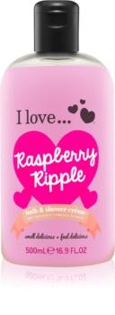 I love... Raspberry Ripple cremă de duș și baie