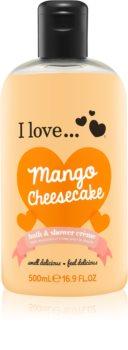 I love... Mango Cheesecake krema za prhanje in kopanje