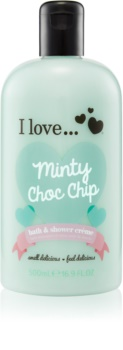 I love... Minty Choc Chip cremă de duș și baie