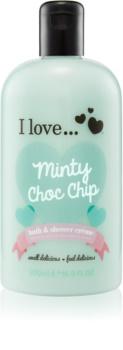 I love... Minty Choc Chip krema za prhanje in kopanje