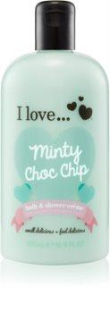 I love... Minty Choc Chip sprchový a koupelový krém
