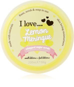 I love... Lemon Meringue cukrový peeling