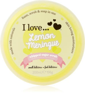 I love... Lemon Meringue Sugar Scrub