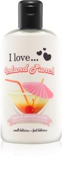I love... Island Punch крем для ванни та душу
