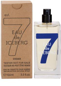Iceberg Eau de Iceberg Cedar woda toaletowa tester dla mężczyzn 100 ml