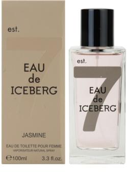 Iceberg Eau de Iceberg Jasmine toaletní voda pro ženy 100 ml