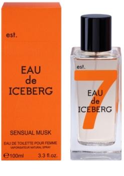 Iceberg Eau de Iceberg Sensual Musk toaletná voda pre ženy 100 ml