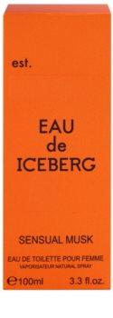 Iceberg Eau de Iceberg Sensual Musk woda toaletowa dla kobiet 100 ml