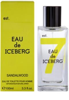 Iceberg Eau de Iceberg Sandalwood eau de toilette pentru bărbați 100 ml