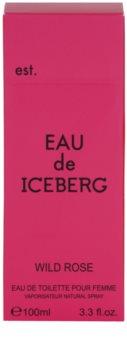 Iceberg Eau de Iceberg Wild Rose toaletna voda za ženske 100 ml