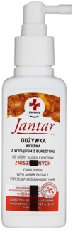 Ideepharm Medica Jantar conditioner spray pentru regenerare pentru par deteriorat