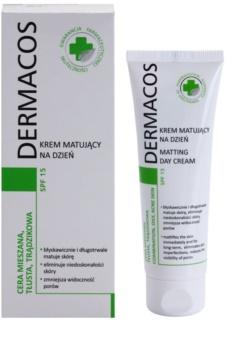 Ideepharm Dermacos Combination Oily Acne Skin crème de jour matifiante SPF 15